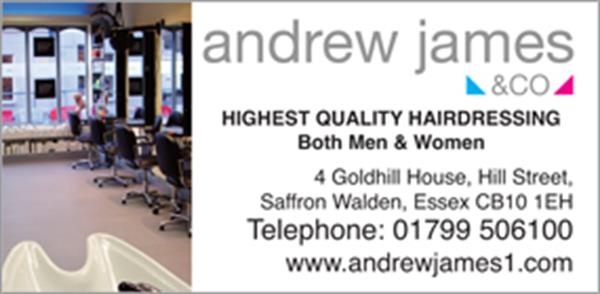 Advert for Andrew James & Company