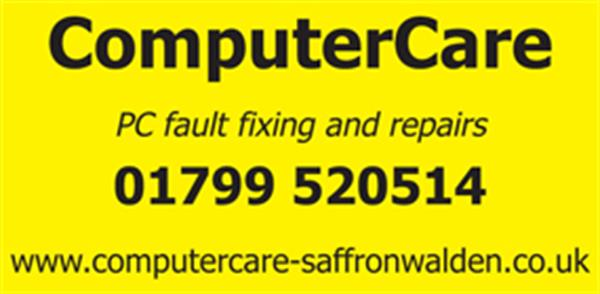 Advert for Computer Care