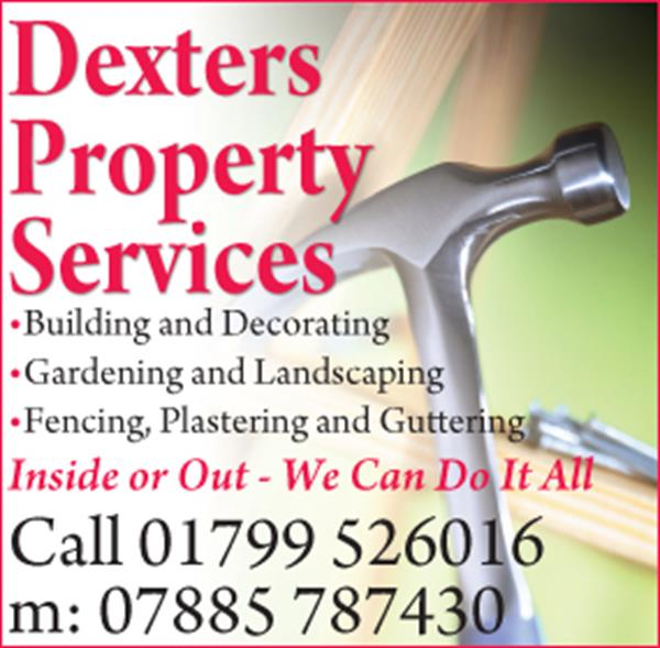 Advert for Dexters Property Services