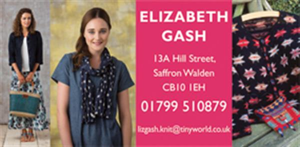 Advert for Elizabeth Gash Fashion