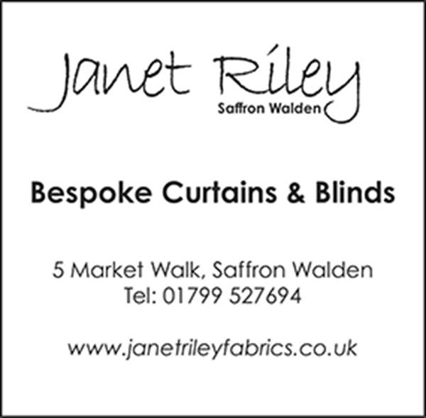 Advert for Janet Riley Fabrics