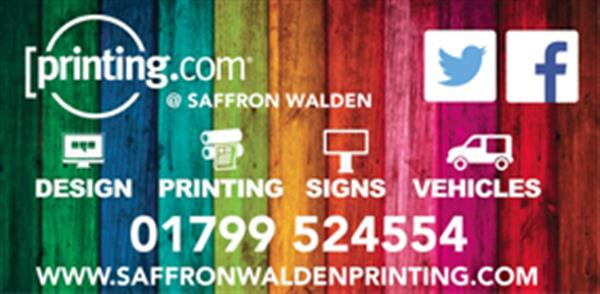 Advert for Printing.com Saffron Walden