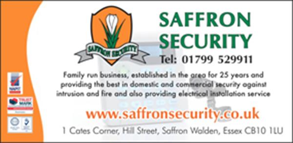 Advert for Saffron Security Ltd