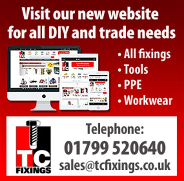 Advert for T C Fixings