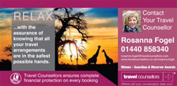 Advert for Travel Counsellors